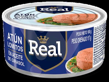 Imagen de ATUN REAL LOMITOS EN ACEITE 180 grs