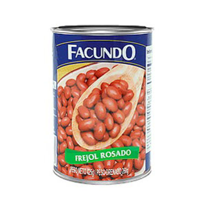 Imagen de FREJOL ROSADO FACUNDO 425 Gr