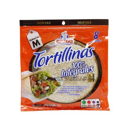 Imagen de TORTILLINAS INTEGRALES BIMBO 250 GR