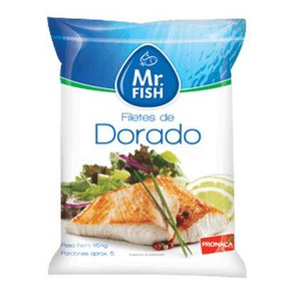 Imagen de FILETES DE DORADO MR FISH 454 GR
