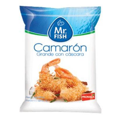 Imagen de CAMARON GRANDE C/ CASCARA MR. FISH 454 GR