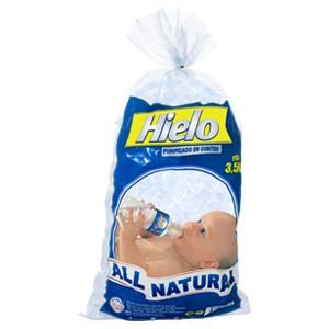 Imagen de HIELO ALL NATURAL FDA.