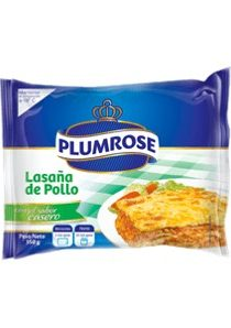 Imagen de PLUMROSE LASAÑA DE POLLO 350 GR
