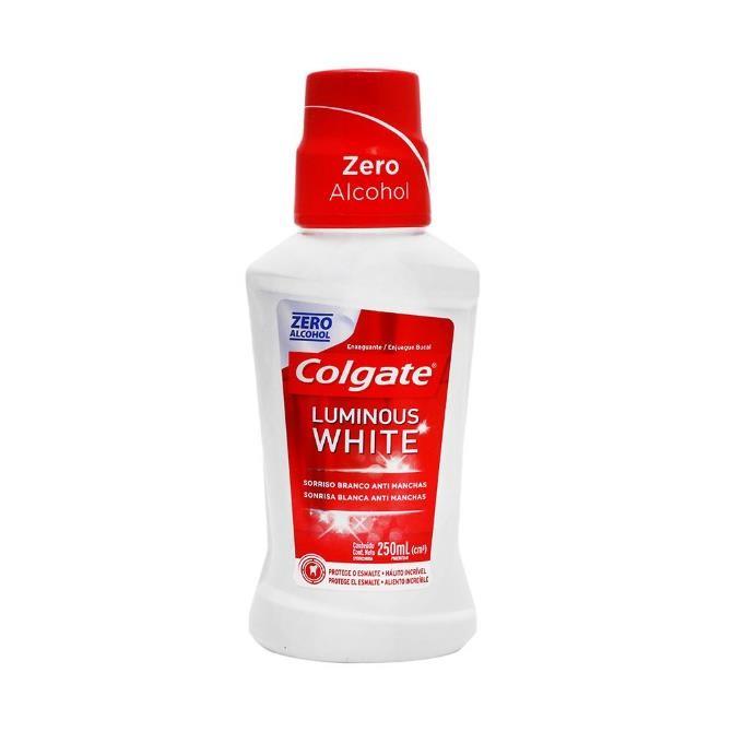 Imagen de COLGATE ENJUAGUE BUCAL LUMINOUS WHITE 250 ML