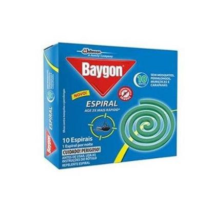 Imagen de BAYGON ESPIRALES X 10 GTS 168 G