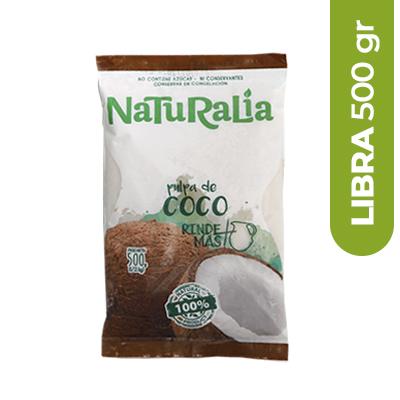 Imagen de PULPA DE FRUTA NATURALIA COCO 500 GR