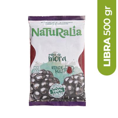Imagen de PULPA DE FRUTA MORA NATURALIA 500 GR
