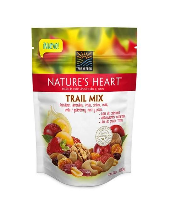 Imagen de NATURES HEART TRAIL MIX 100G