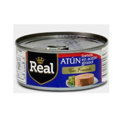 Imagen de ATUN REAL LOMOS EN AGUA TIP/FRANCES 160G