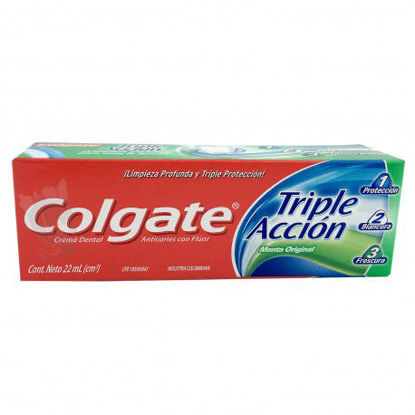 Imagen de COLGATE TRIPLE ACCION MENTA ORIGINAL 60 ML