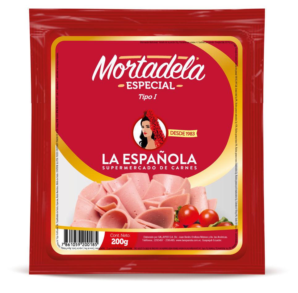 Imagen de MORTADELA ESPECIAL 200 GR.