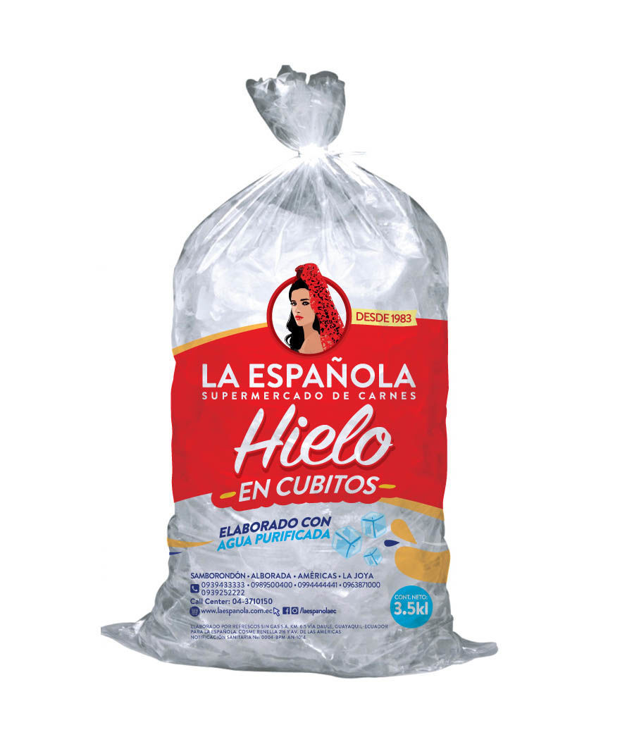 Imagen de FUNDA DE HIELO LA ESPAÑOLA 3.5 KG