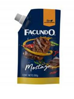 Imagen de MOSTAZA FACUNDO 200 GR